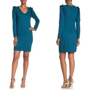 Trina Turk Eleanor's Ruffle Dress